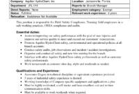 Best Photos Of Internal Job Posting Template Word – Resume within Internal Job Posting Template Word