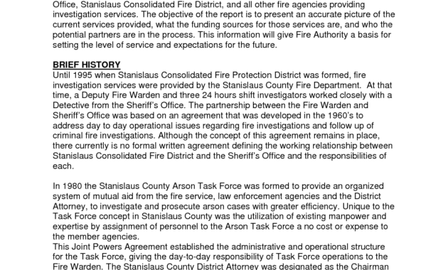 Best Photos Of Investigation Report Template - Sample within Sample Fire Investigation Report Template
