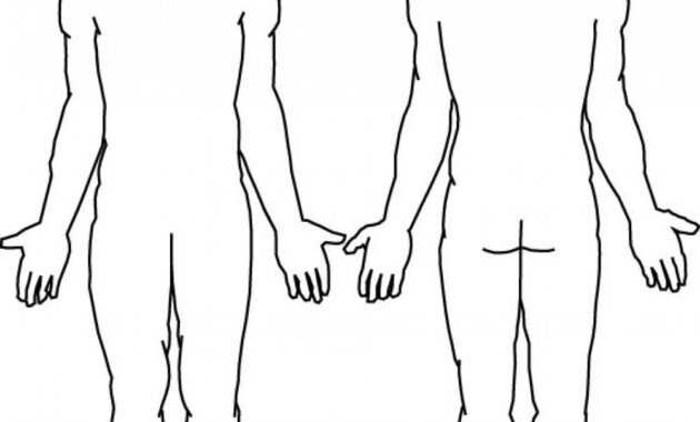 Blank Body | Final Tattoo Ideas | Human Body Diagram, Body throughout Blank Body Map Template