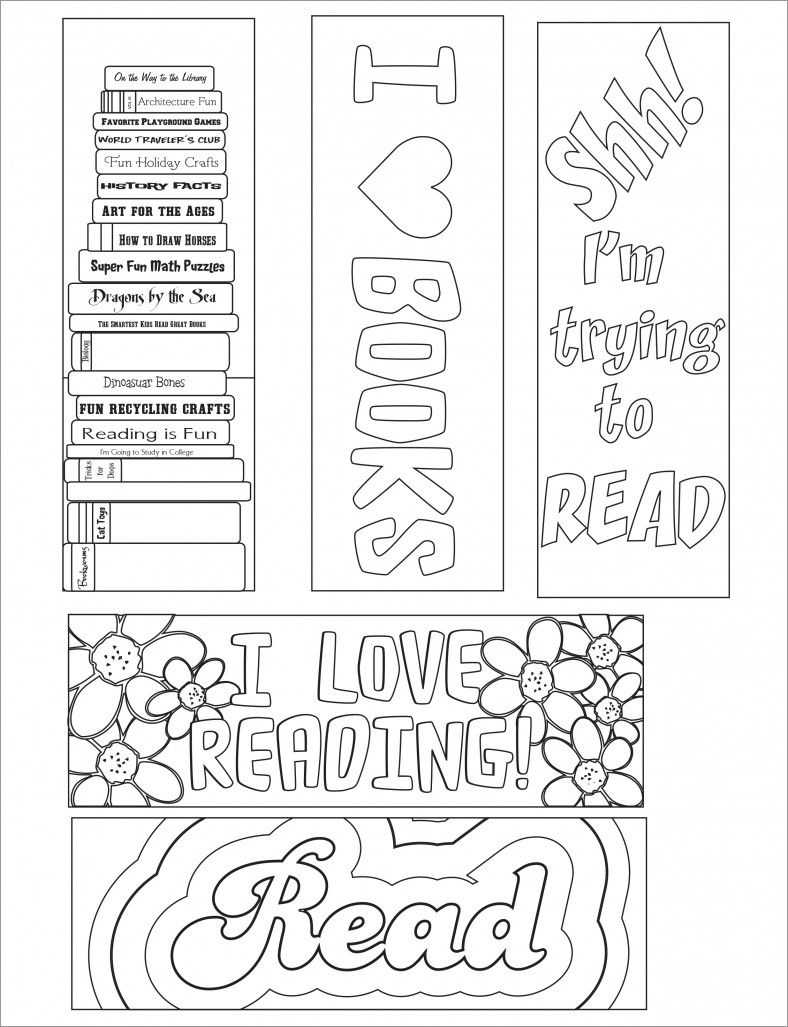 Blank Bookmark Template, Bookmark Template | Free Printable Intended For Free Blank Bookmark Templates To Print