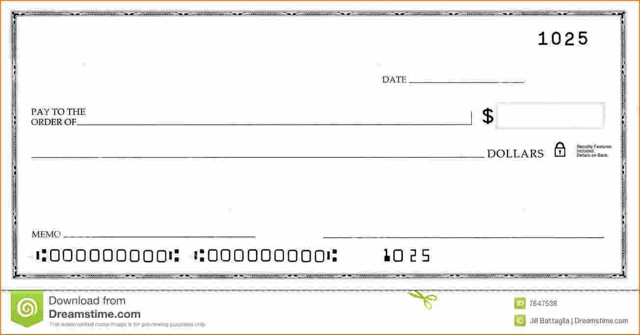Blank Business Check Template | Template | Business Checks Inside Print Check Template Word