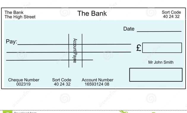 Blank Cheque Template Uk - Atlantaauctionco pertaining to Blank Cheque Template Uk