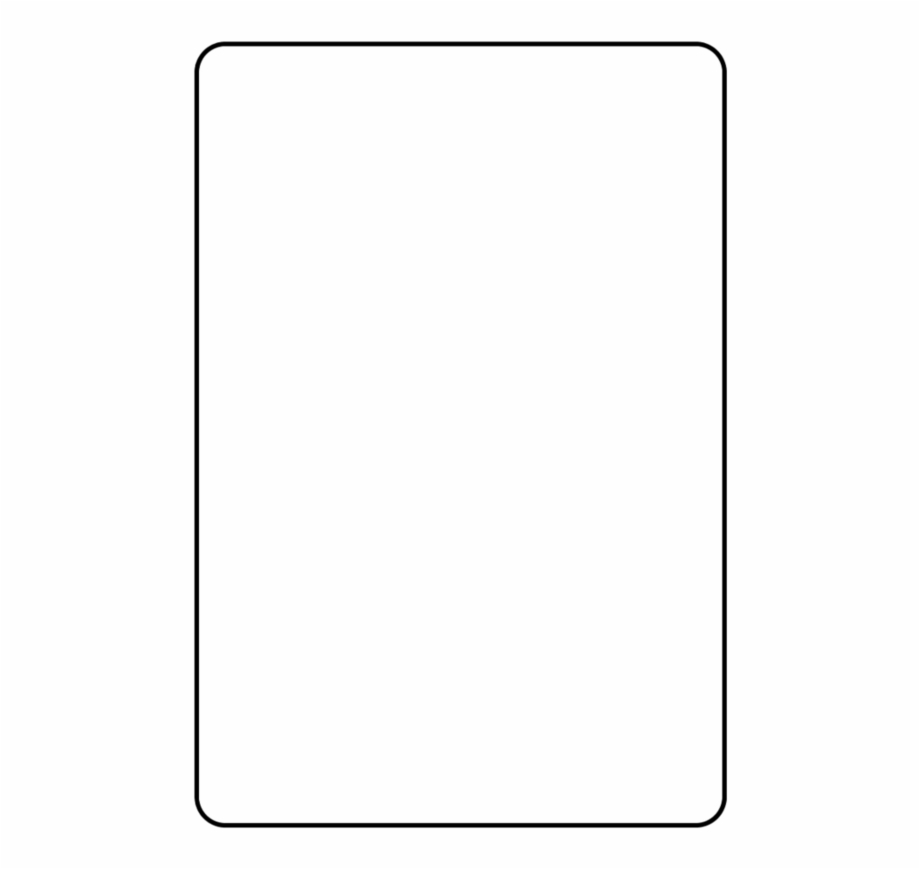 Blank Playing Card Template – Parallel Free Png Images Intended For Blank Playing Card Template