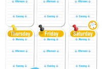 Blank Revision Timetable Template | Classroom | Timetable throughout Blank Revision Timetable Template