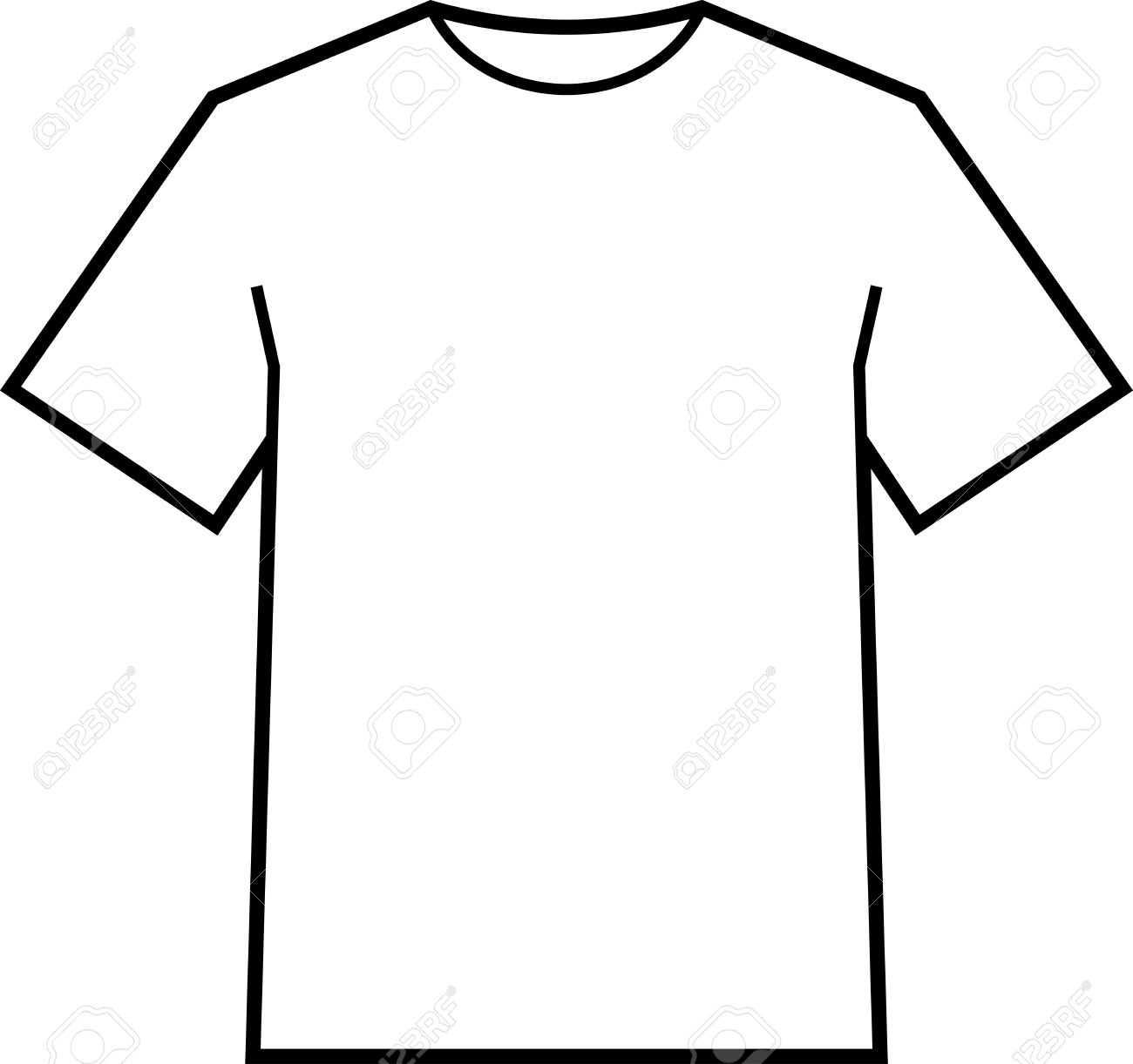 Blank T Shirt Template Vector Pertaining To Blank Tee Shirt Template