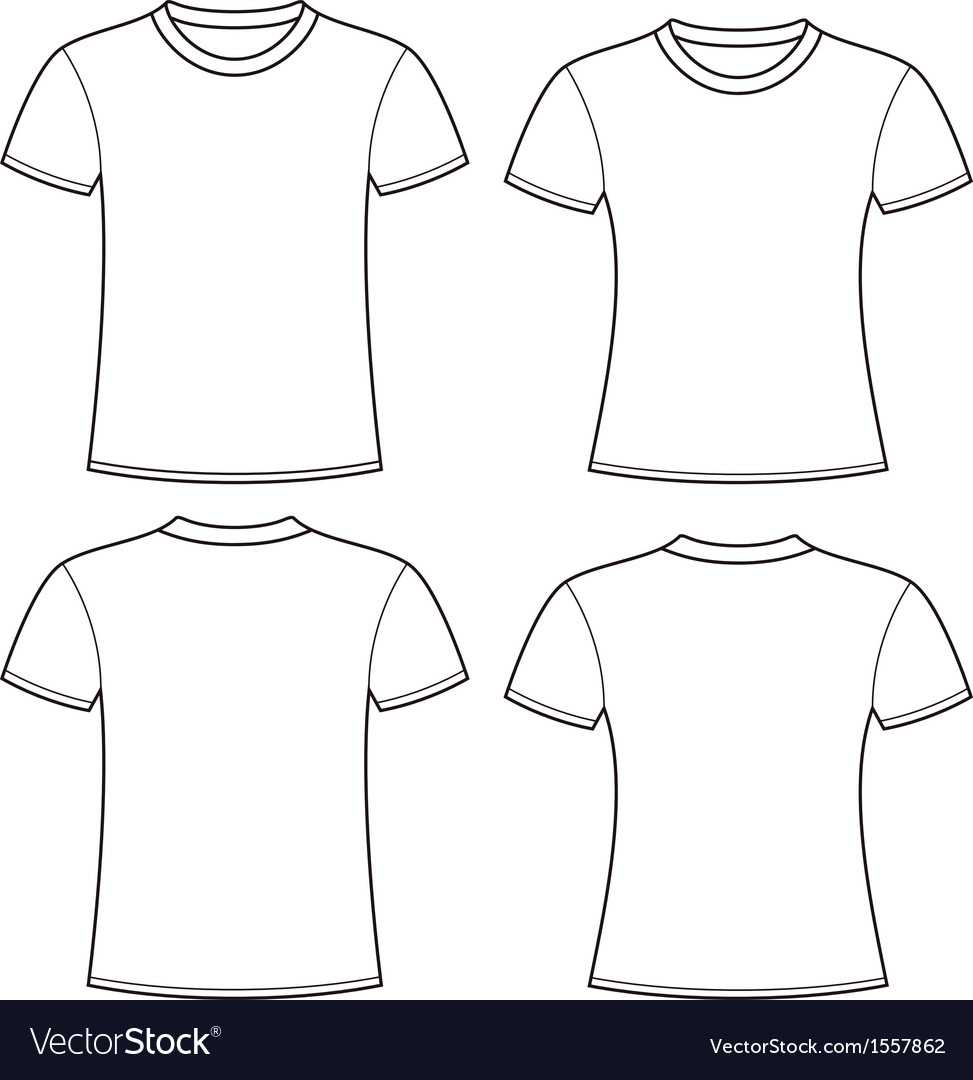 Blank T Shirts Template With Blank Tee Shirt Template