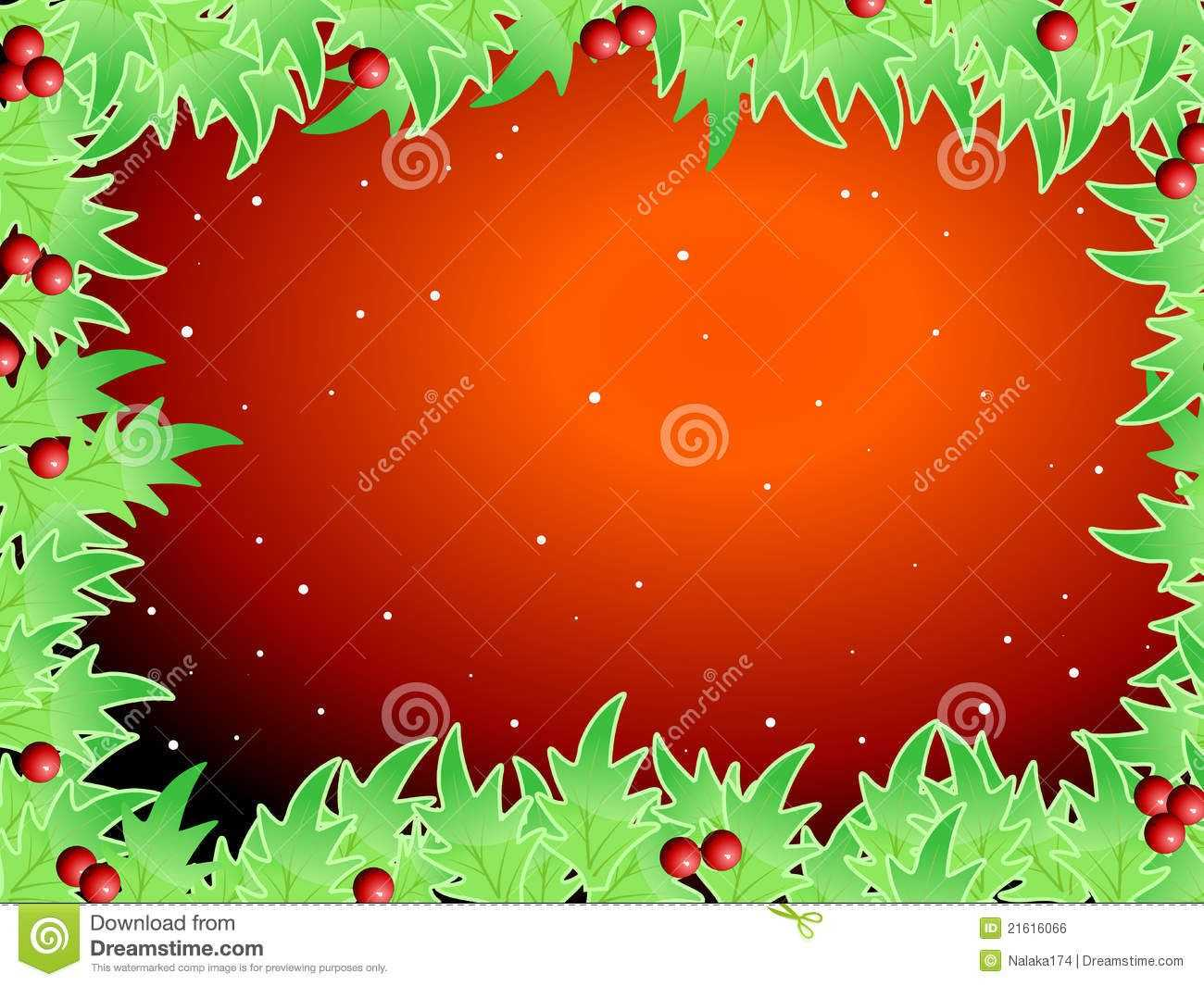 Blank Template For Christmas Greetings Card Royalty Free Regarding Blank Christmas Card Templates Free