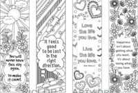 Bookmark Template Printable – Verypage.co inside Free Blank Bookmark Templates To Print