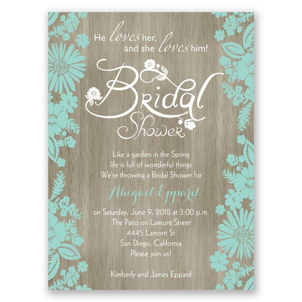 Bridal Shower Invitations Blank Templates | Wedding Shower In Blank Bridal Shower Invitations Templates