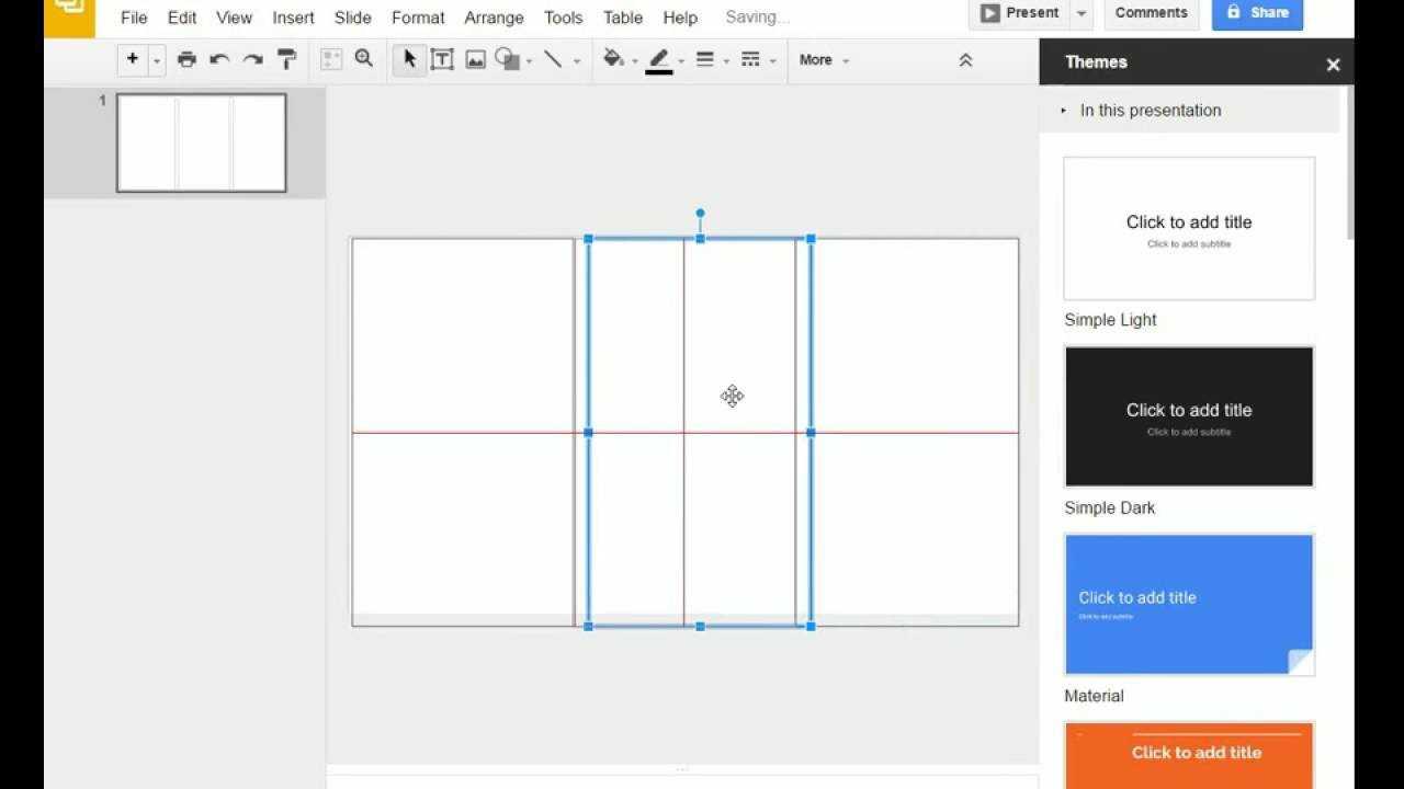 Brochure (Step 1) – Google Slides – Creating A Brochure Template In Google  Slides Throughout Brochure Templates For Google Docs