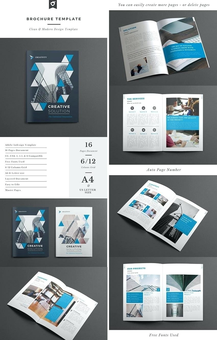 Brochure Templates Free Download – Goodwincolor.co Within 12 Page Brochure Template