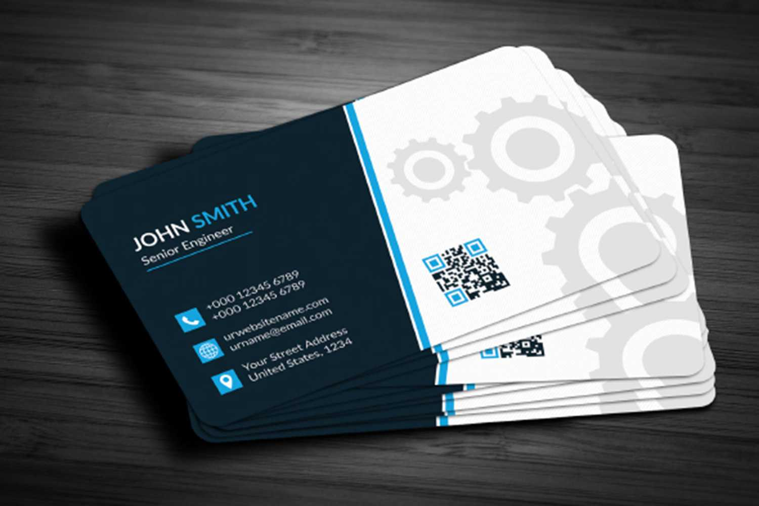 Business Card Template Free Download - Maxpoint Hridoy Within Download Visiting Card Templates
