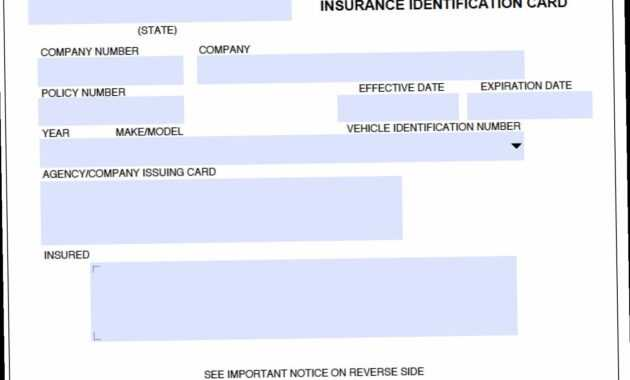 Car Insurance Card Template Free Here's What No One Tells in Fake Car Insurance Card Template