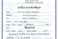 Catholic Baptism Certificate – Yahoo Image Search Results for Christian Baptism Certificate Template