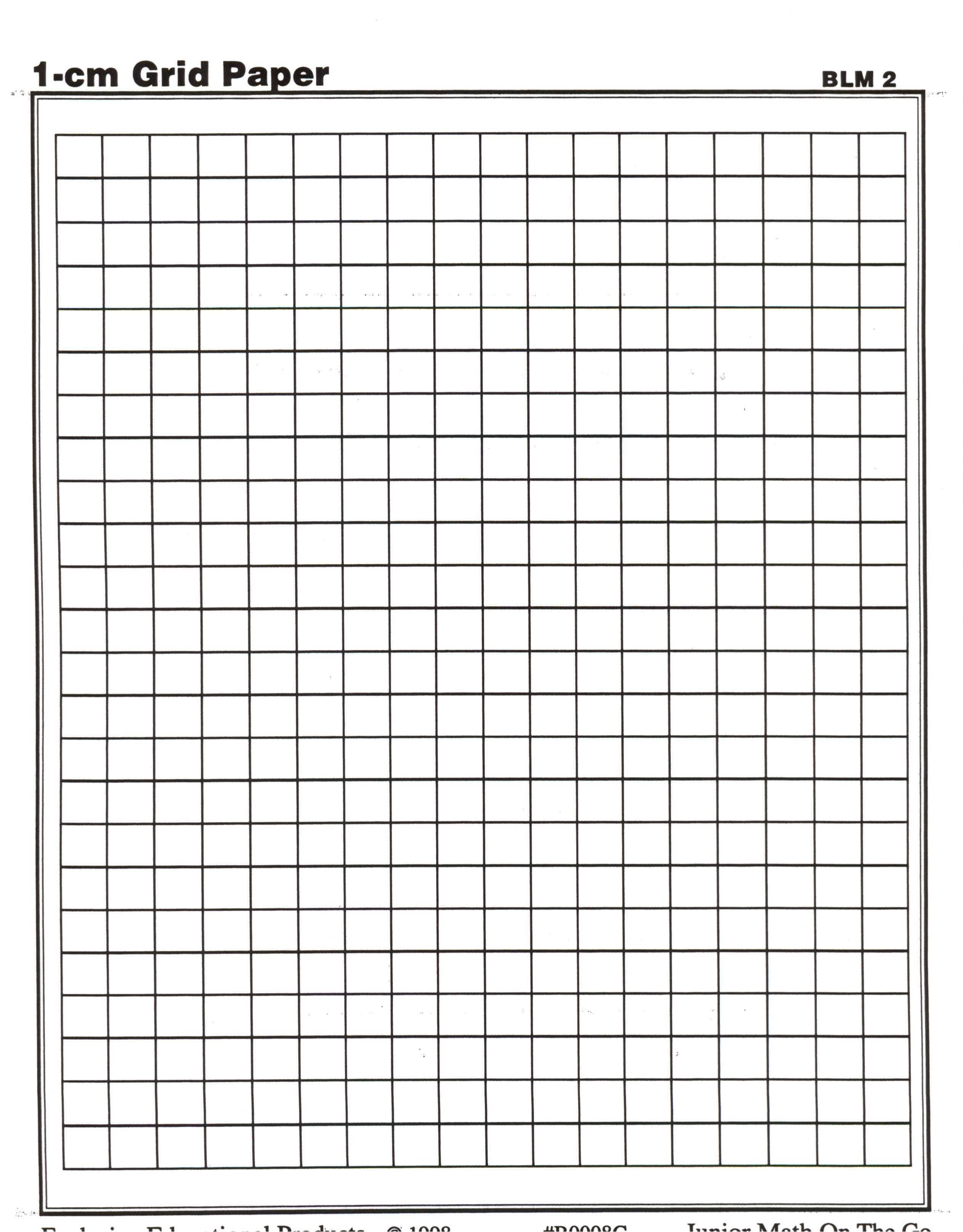 Centimeter Graph Paper | Math Teaching Ideas | Printable Intended For 1 Cm Graph Paper Template Word