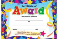 Certificate Template For Kids Free Certificate Templates inside Star Certificate Templates Free