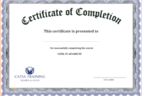 Certificate Template Free Printable – Free Download in Training Certificate Template Word Format