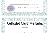 Certificate Templates: Best Photos Of Church Membership inside New Member Certificate Template