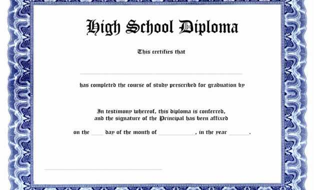 certificates  awesome ged certificate template download