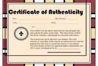 Certificates. Incredible Certificate Of Authenticity intended for Photography Certificate Of Authenticity Template