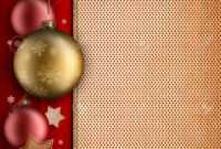 Christmas Card Template – Baulbles, Stars And Blank Space For.. within Blank Christmas Card Templates Free