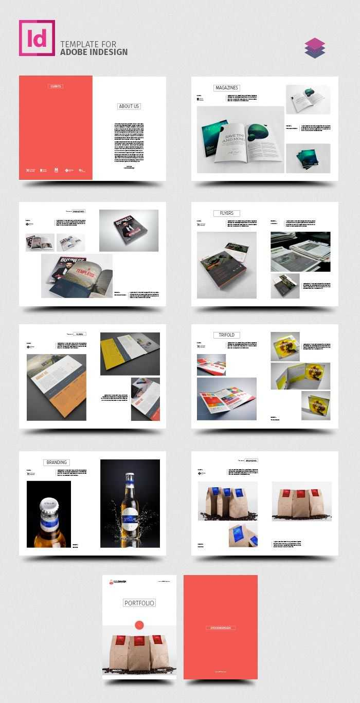 Clean Product Catalog   Catalog Ideas   Product Catalog with regard to Product Brochure Template Free