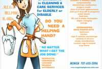 Cleaning Brochure Templates Lovely House Cleaning Flyer with Commercial Cleaning Brochure Templates