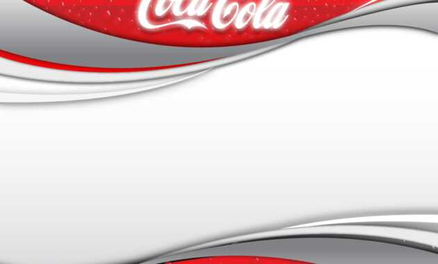 Coca Cola 2 Backgrounds For Powerpoint - Miscellaneous Ppt for Coca Cola Powerpoint Template