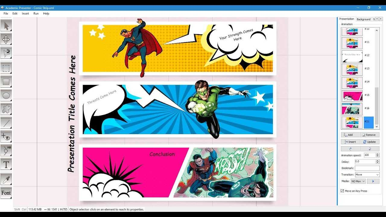 Comic Strip Template Pertaining To Powerpoint Comic Template