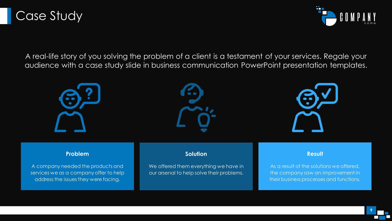 Communications Plan Premium Powerpoint Template - Slidestore Inside Powerpoint Templates For Communication Presentation