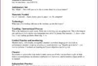 Complex Madeline Hunter Lesson Plan Explanation Madeline with Madeline Hunter Lesson Plan Template Word