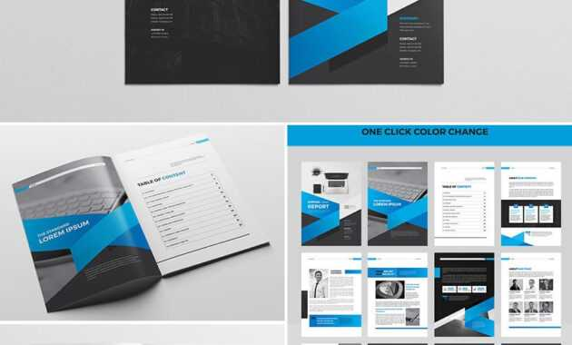 Cool Indesign Annual Corporate Report Template | Report in Free Annual Report Template Indesign