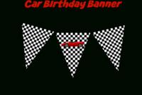 Coolest Car Birthday Ideas – My Practical Birthday Guide inside Cars Birthday Banner Template