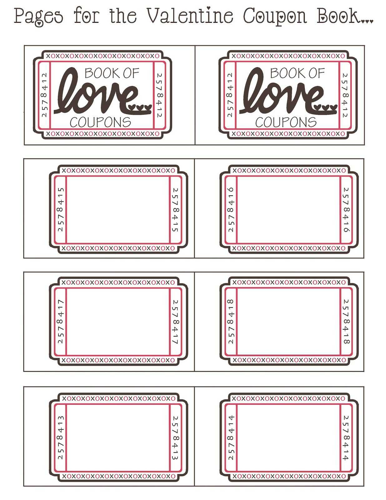Coupon Book Ideas For Husband. Blank Love Coupon Templates With Regard To Blank Coupon Template Printable