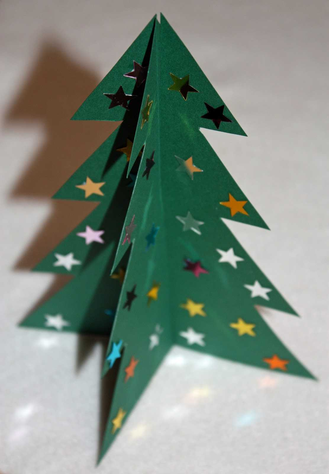 Craft And Activities For All Ages!: Make A 3D Card Christmas Within 3D Christmas Tree Card Template