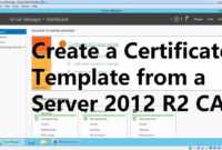 Create A Certificate Template From A Server 2012 R2 Certificate Authority throughout No Certificate Templates Could Be Found