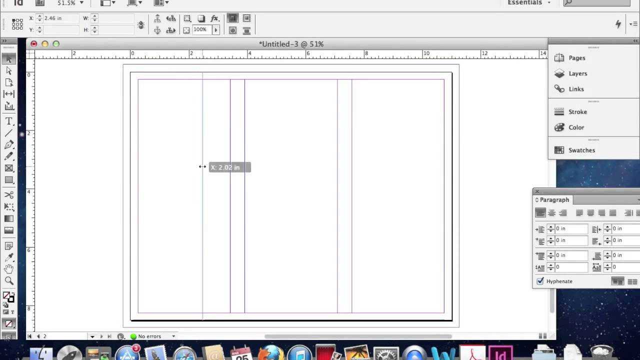 Creating A Trifold Brochure In Adobe Indesign Throughout Adobe Indesign Tri Fold Brochure Template