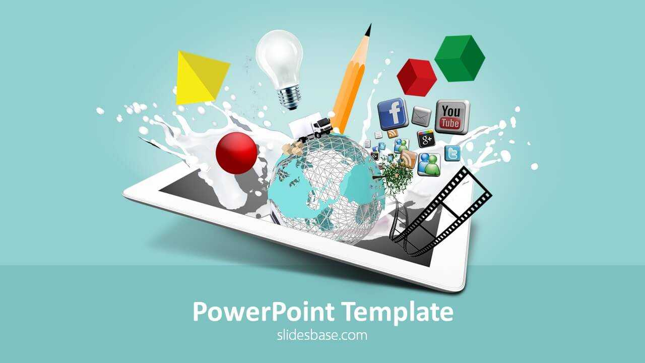 Creative Design Powerpoint Template Within Multimedia Powerpoint Templates