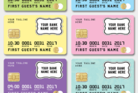 Credit Card Invitation Template – New Colors! | Mall throughout Credit Card Template For Kids