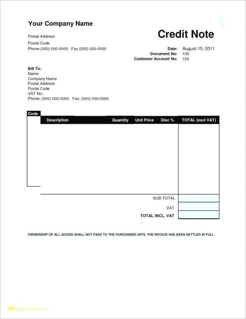 Credit Card Invoice Template Within Credit Card Size Template For Word