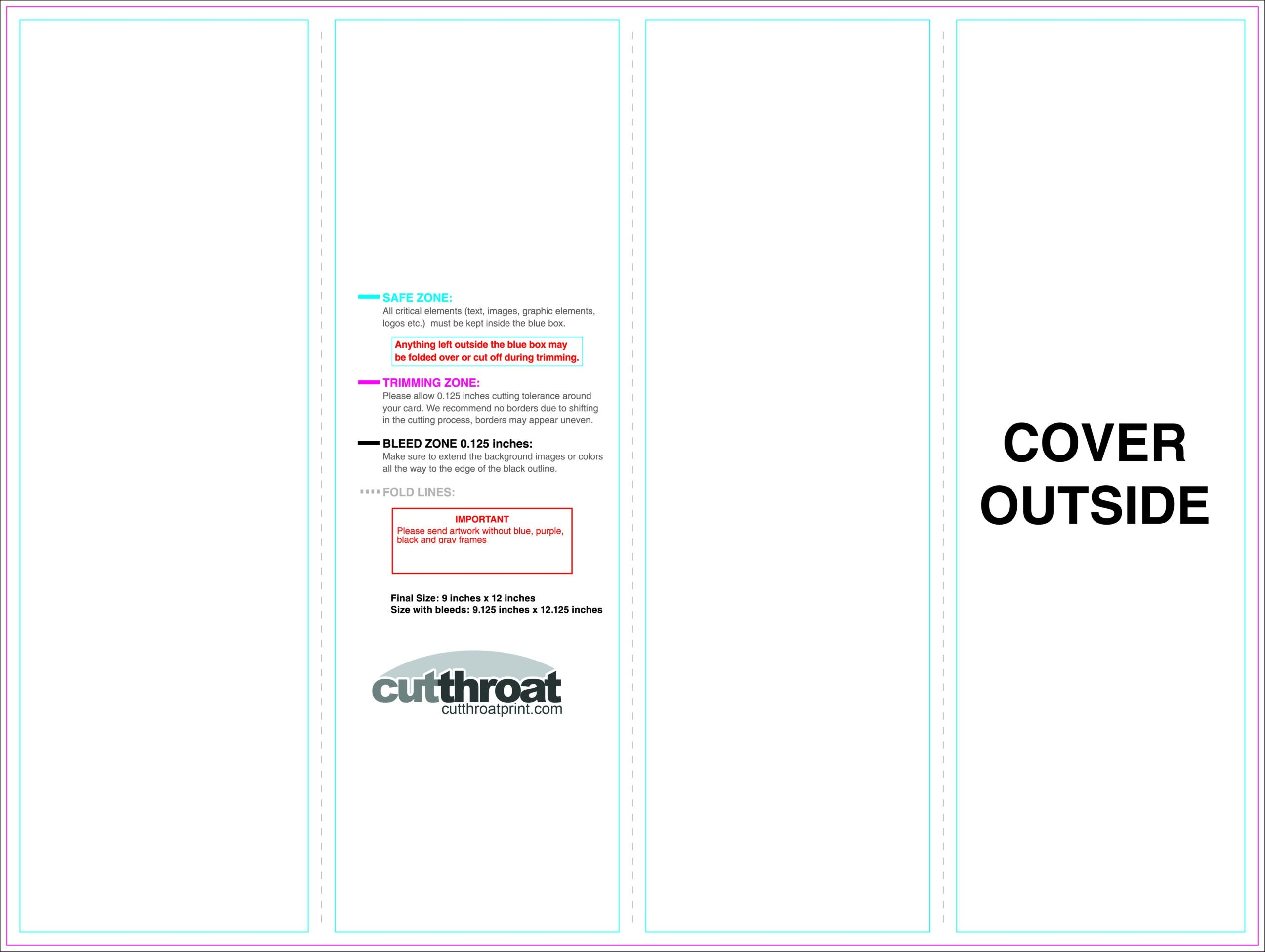 Cutthroat Printcustom Brochure Printing With 11X17 Brochure in 11X17 Brochure Template