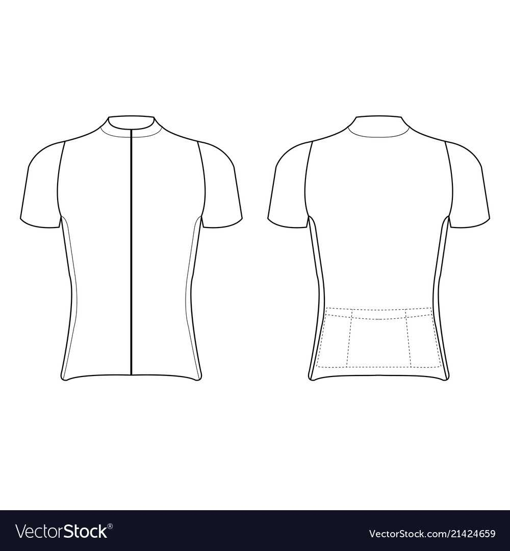 Cycling Jersey Design Blank Of Cycling Jersey Within Blank Cycling Jersey Template