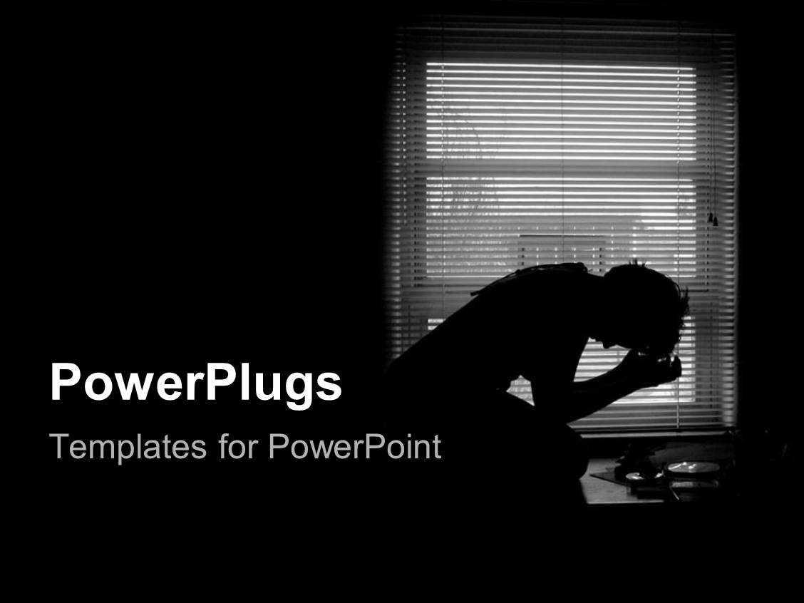 Depression Powerpoint Templates W/ Depression Themed Backgrounds Inside Depression Powerpoint Template