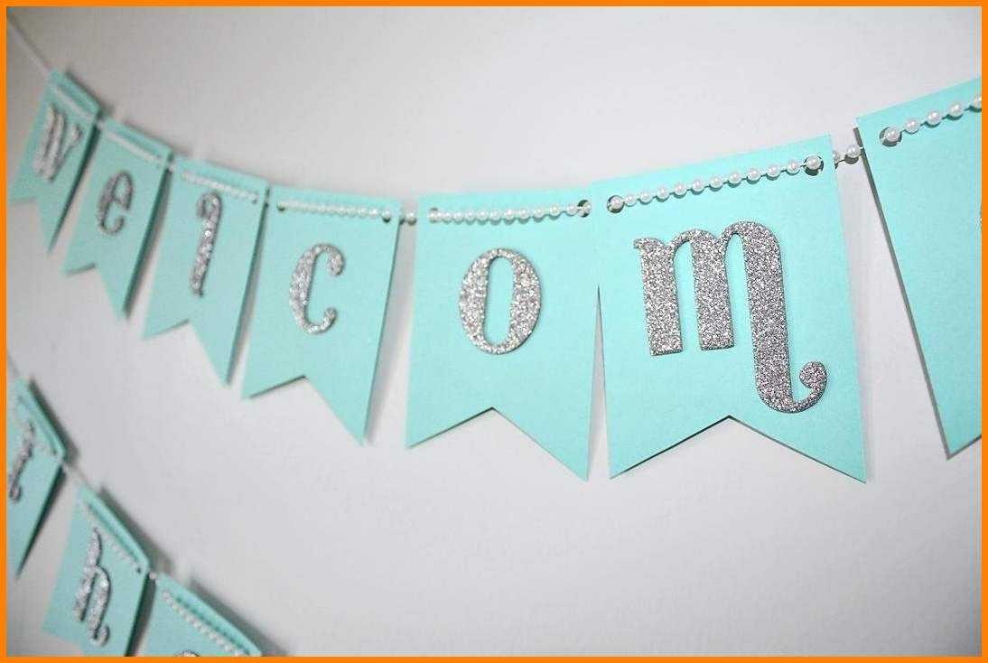 Diy Baby Shower Banner Architecture Excellent Idea Intended For Diy Baby Shower Banner Template