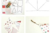 Diy Paper Pennant Banner (W/ Free Template) – Mommy Suite pertaining to Homemade Banner Template