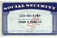 Don't Give Your Social Security Number At These Places with Social Security Card Template Photoshop