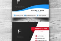 Double Sided Business Card Template Illustrator | Lera Mera Inside 2 Sided Business Card Template Word