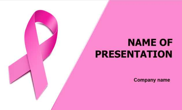 Download Free Breast Cancer Powerpoint Template And Theme inside Free Breast Cancer Powerpoint Templates