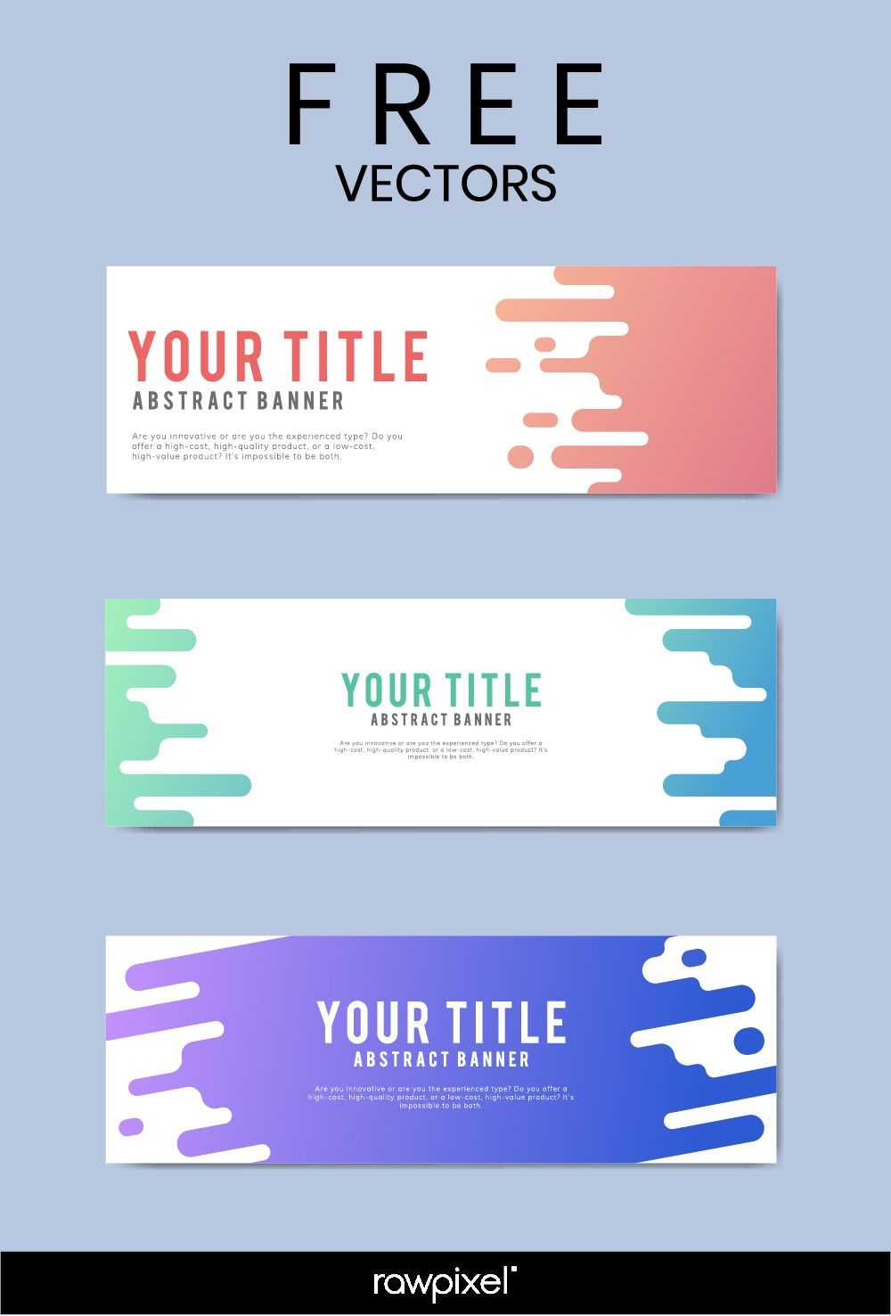 Download Free Modern Business Banner Templates At Rawpixel Pertaining To Website Banner Templates Free Download