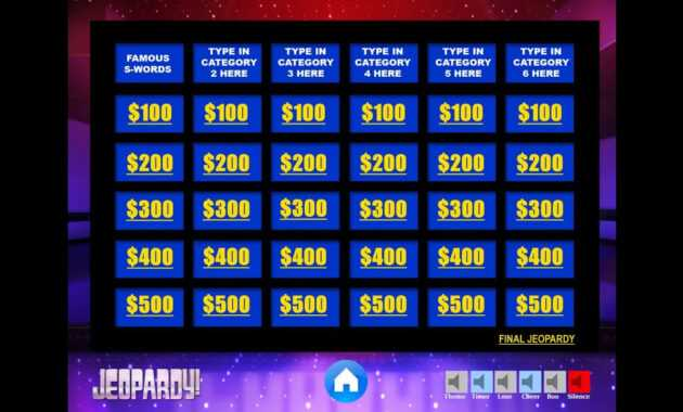 Download The Best Free Jeopardy Powerpoint Template - How To Make And Edit  Tutorial with regard to Jeopardy Powerpoint Template With Sound